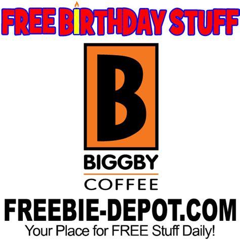 Biggby Gift Card - birthday freebie biggby coffee freebie depot