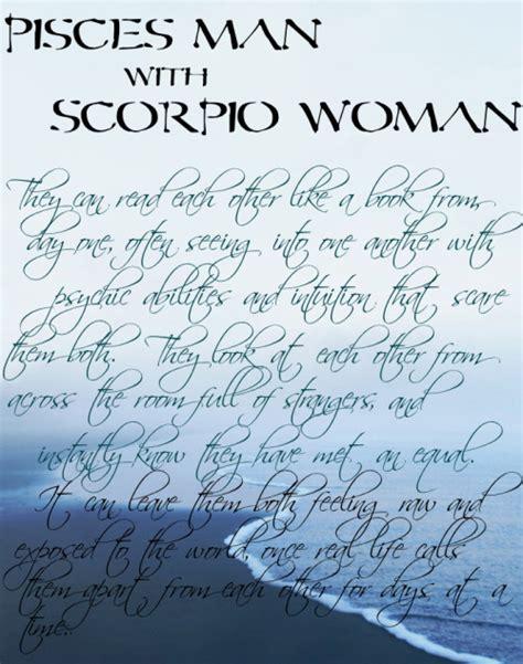 scorpio pisces romance quotes quotesgram