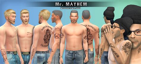sims tattoo opie winston tattoos www pixshark images galleries