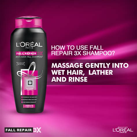 L Oreal Fall Repair 3x stay rooted from l oreal fall repair 3x