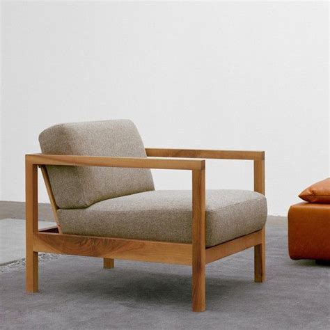 Living Room Wooden Chairs - nordic leisure chair modern minimalist wood frame single
