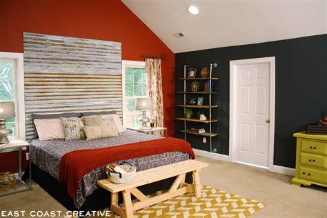 Corrugated Tin Headboard by Diy Corrugated Metal Headboard East Coast Creative