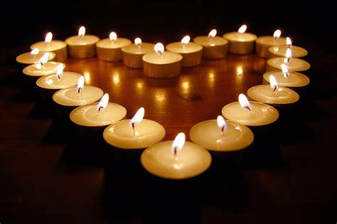 foto candele candele cuore tatone fiori