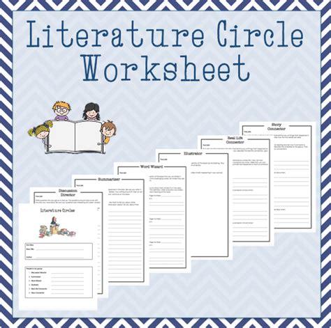 Literature Circle Worksheets by Worksheet Literature Circles Roles Worksheets Caytailoc