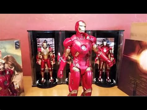 unboxing hot toys iron man mk scale mms limited