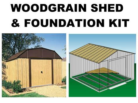 Shed Foundation Kit by Ebay