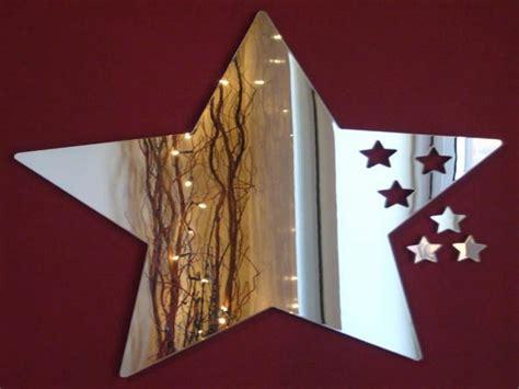 mirrors   wall mirrored barn stars star mirror wall