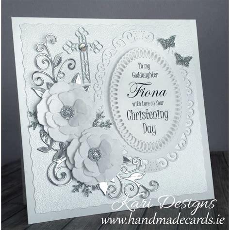 Handmade Christening Cards - christening card handmade by kari designs www