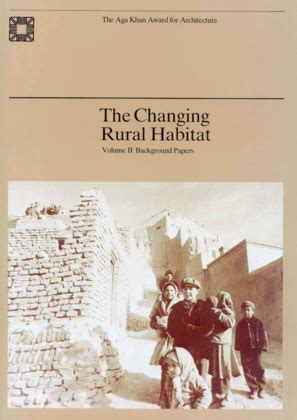 Changing Of Rural India Essay by The Changing Rural Habitat Volume 2 Background Papers Archnet