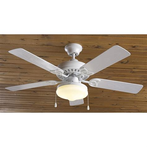 solar outdoor ceiling fan aloha 174 42 quot indoor outdoor ceiling fan with light