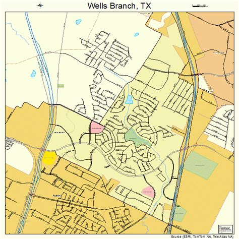 texas well map branch texas map 4877196