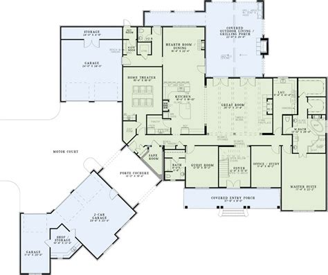 home theater floor plan house plans with home theater