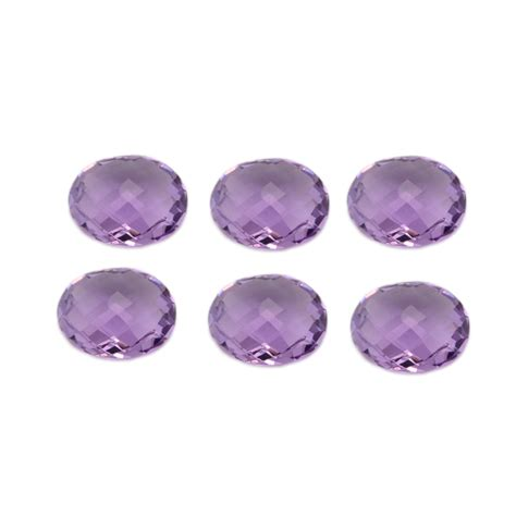 Amethyst Cutting Oval by Amethyst Oval Faceted Briolettes Cut 12x14mm