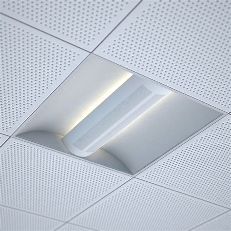 Office Ceiling Light Fixtures Office Recessed Ceiling Light 3d Models 3docean