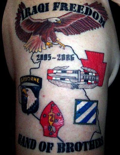 oif tattoo designs iraqi freedom operation iraqi freedom tattoos