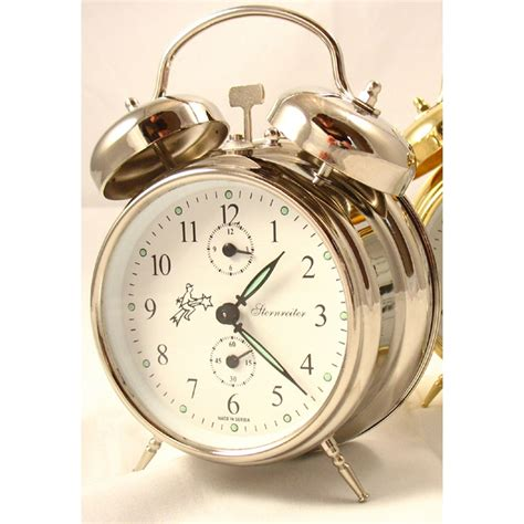 wind  alarm clocks sternreiter  bulova mechanical
