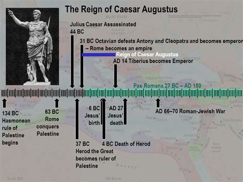 the age of caesar five lives books of matthew ppt