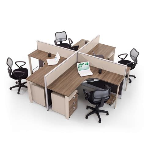 Modern Workstation Desk Modern Wood Office Furniture Workstation With Partition Screen 7f 30a 46 02 Jpg 1350 215 1350