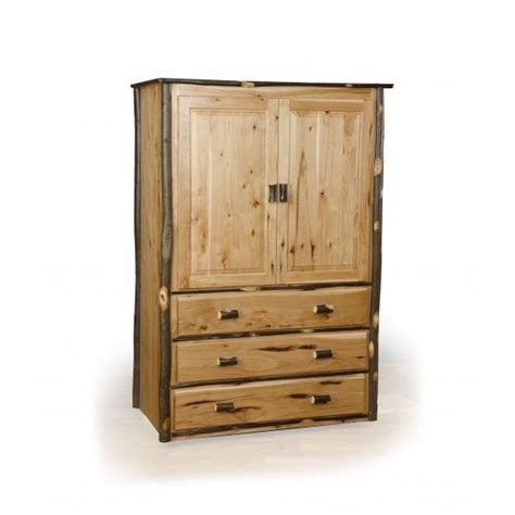hickory armoire hickory armoire amish crafted furniture