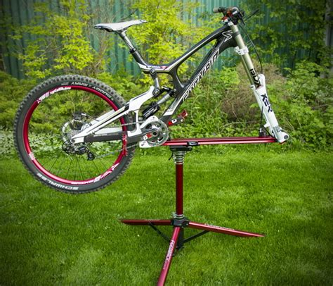a frame bicycle event stand review feedback sports sprint work stand singletracks