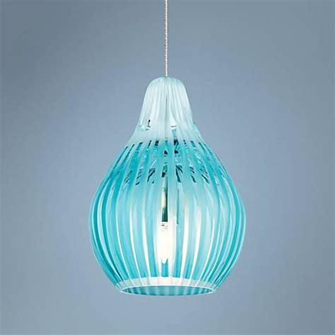 aqua glass pendant light tech lighting freejack avery aqua glass mini pendant