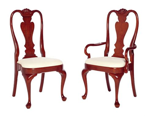Pennsylvania House Dining Room Chairs by Cherry Queen Anne Chairs