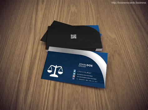 free attorney business card psd template business cards