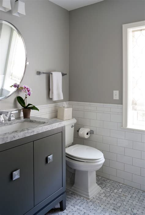 white and gray bathrooms best selling benjamin paint colors