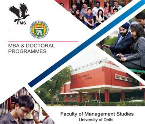 Mba Cal State Fullerton Cost by Faculty Of Management Studies Fms Delhi Programs Offered