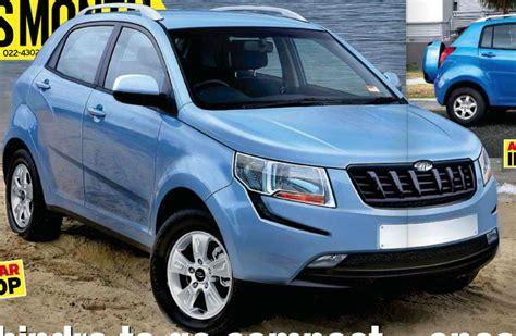 indian car mahindra s102 mahindra s upcoming compact suv 1l turbo petrol