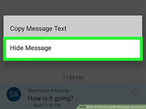 groupme for android how to hide groupme messages on android 4 steps with pictures