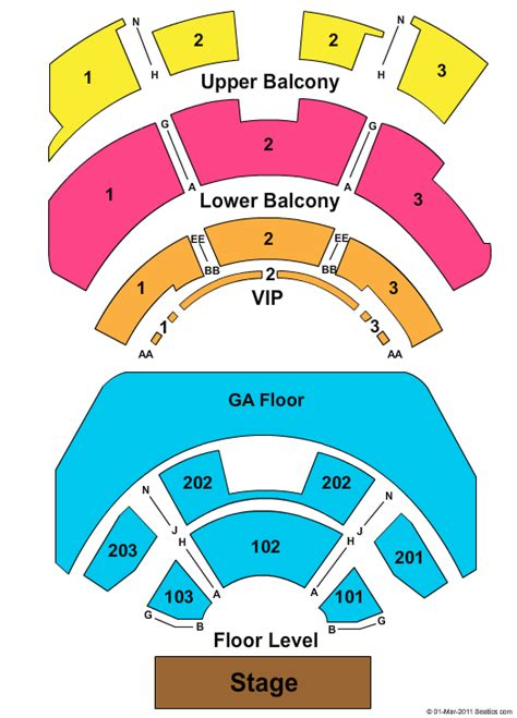 club nokia seating chart club nokia seating chart ga1 playstation theater seating