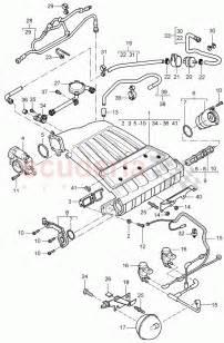 intake manifold throttle for porsche cayenne 2003 scuderia car parts original parts