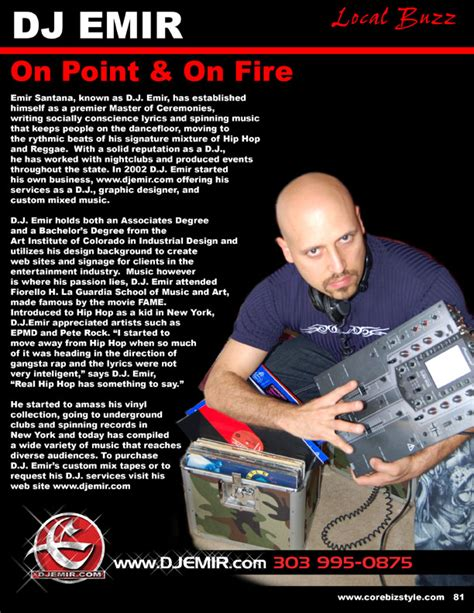 dj emir press kit media coverage of one of the worlds