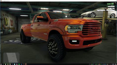 2019 Dodge Ram 3500 by 2019 Dodge Ram 3500 Hd Add On Gta5 Mods