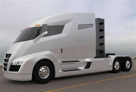 nikola electric semi truck nikola one electric truck with turbine is the tesla of