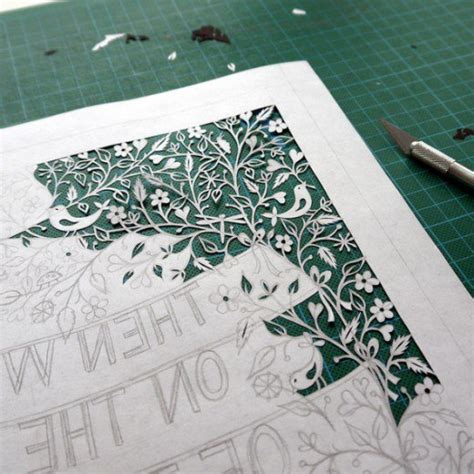 How To Make Paper Cutting Designs - paper cutting tutorials for beginners