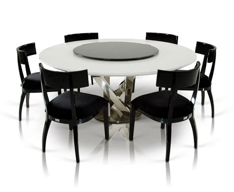 Circular Dining Table For 6 with Modern Dining Table For 6