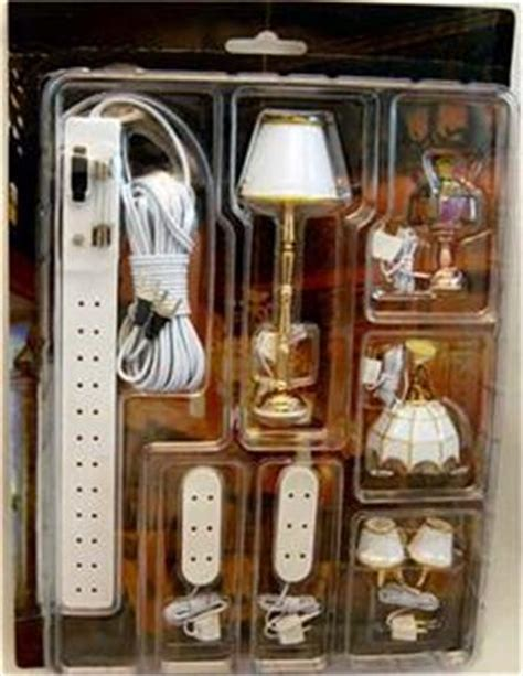 Dollhouse Light Fixtures Dollhouse Miniature Light Fixtures L Lighting Set 12 Volt 1 12 Free Shipping Ebay