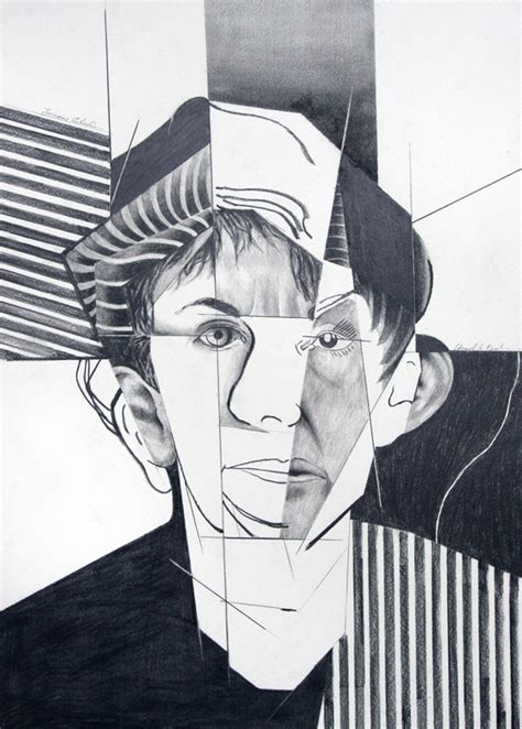 how to draw cubism drawing lesson cubist portrait drawing a cubist