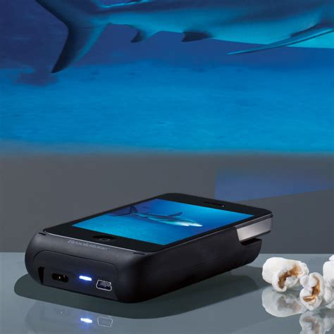 iphone projector win it brookstone iphone pocket projector for s day momfluential media