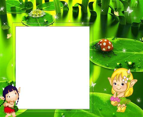 imagenes de niños verdes marcos para fotos gratis marco para ni 241 os con mariquita y