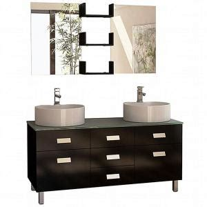 design elements vanity home depot design element wellington 55 in w x 22 in d vanity in