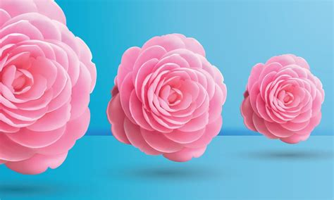 blue wallpaper pink roses pink roses on blue background by valveat on deviantart