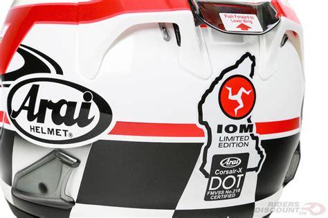 Iom Tt 2016 Original T Shirt Tt Logo Wings Black 1 049 95 arai corsair x limited edition 2016 iom tt 976174