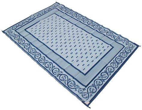 rv awning mats 8 x 20 faulkner rv mat vineyard blue 8 x 20 faulkner