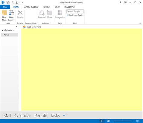 Calendar Folder Property Is Missing Outlook 2013 View Regions Explorer Pane Navigation Pane