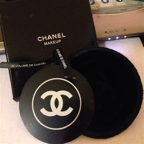 Cosmetic Pouch Rounded Tempas Kosmetik chanel chanel pocket mirror with velvet pouch from fan s closet on poshmark