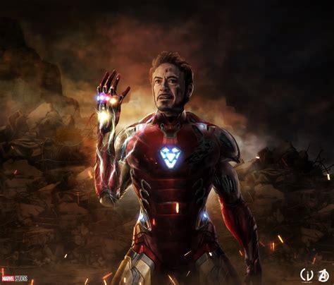iron man avengers endgame ipad air hd