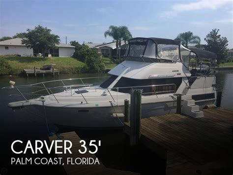 used aft cabin boats for sale in florida for sale used 1993 carver 350 aft cabin in palm coast